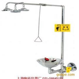 脚踏不锈钢紧急洗眼器WJH0359B立式洗眼器