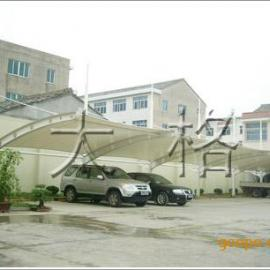 停车棚膜结构,膜结构停车棚