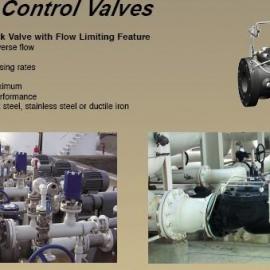 CLA-VAL限流量无补偿止回阀(地面加油泵保护