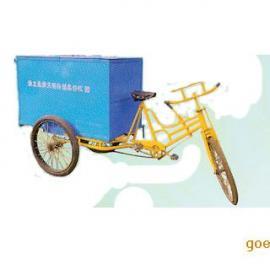 垃圾车生产厂家,三轮垃圾车 人力车批发电动三轮车加工直销