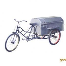 垃圾车生产厂家,不锈钢三轮垃圾车钢板人力垃圾车 电动三轮垃圾车