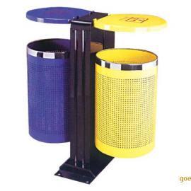 铁制分类垃圾桶,北京亚展垃圾桶厂家 现货批发各款式的垃圾箱可加