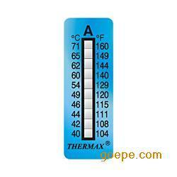 十格A型英国温度贴/测温纸/热敏试纸