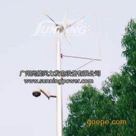 道路监控供电北京赛车400W风力发电机