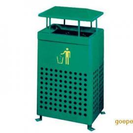 北京垃圾桶厂家直销铁板喷塑垃圾桶,北京铁制垃圾桶