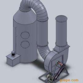 涂装通风除尘工程,废气处理塔 、废气洗涤塔、
