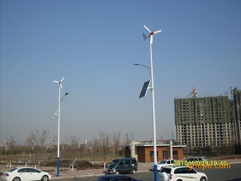 长春太阳能发电设备风力发电机太阳能路灯