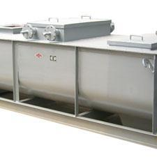 腾达SJ系列双轴加湿搅拌机搅拌均匀 粉尘加湿搅拌机