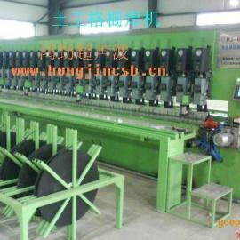 钢塑土工格栅生产线