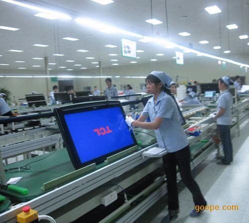 珠海LED灯具组装线体制造厂家