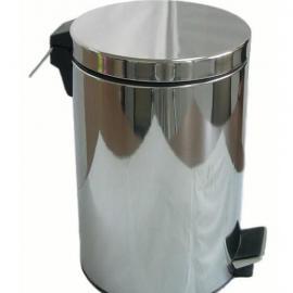 酒店、商场室内高档不锈钢垃圾桶|脚踏垃圾桶