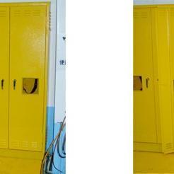 气瓶柜(全钢结构)