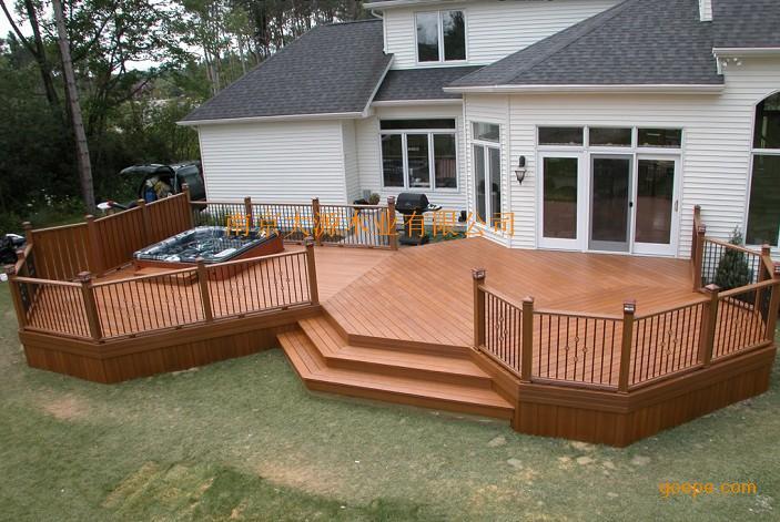 室外环保木塑(塑木)铺板