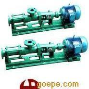 G50-1化工螺杆泵|螺杆泵定子|G型单螺杆泵