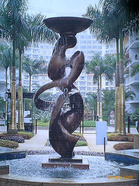 外形美观景观雕塑许愿树
