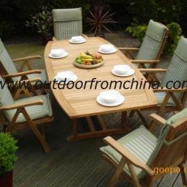 高档桌椅,樟木休闲桌椅,庭院休闲桌椅