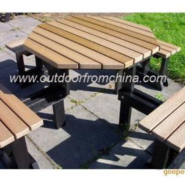 公园桌椅,户外套椅,简洁组合椅