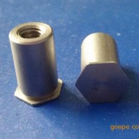盲孔压铆螺柱非标订做 标准压铆螺柱价格 M3*9压铆螺柱