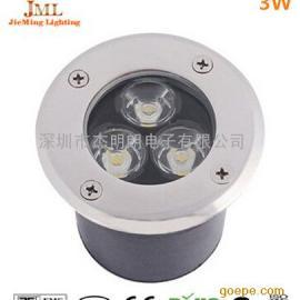防水防尘防震led3W户外射灯3W地埋灯室外景观亮化照明灯具
