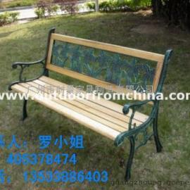 邯郸防腐实木公园椅室外长凳休闲木椅碳化木椅花园庭院阳台椅