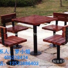 金属结构桌椅,户外花园别墅桌椅
