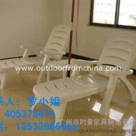 酒店实木躺椅,恩平现货塑料沙滩椅,柚木沙滩椅