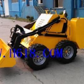 小型电动滑移履带式矿用装载机