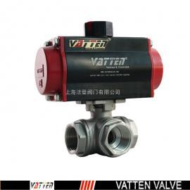 法登(VATTEN)VATTEN/法登合资品牌德国气动三通丝口球阀VT2DDN33A