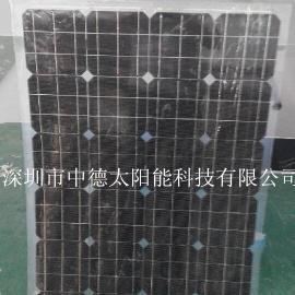 18V36V100W半柔性太阳能电池板车船专用太阳能电池板