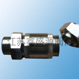 阜宁氧气高压阻火器