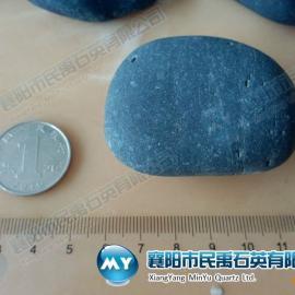厂家低价供应销售湖南长沙天然黑色鹅卵石 河卵石