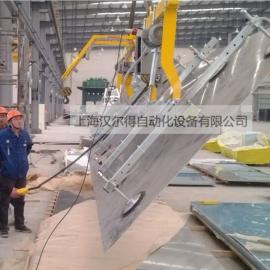 铝板真空吸盘吊具、铝板吸盘吊具搬运可90度翻转搬运码垛