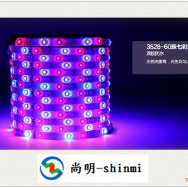 酒店KTV会所酒吧装饰用3528RGB七彩LED灯条灯带光条光带