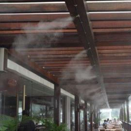 喷雾加湿工程,喷雾加湿器,厂房加湿,工厂加湿