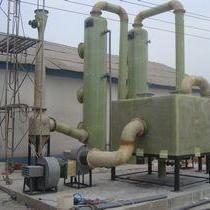 煤化工20吨废气喷淋吸收塔工艺性能