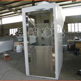 单人双吹钢板风淋室 净化风淋室 高档风淋室FLS-1C