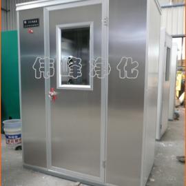 内外侧不锈钢板 单人双吹风淋室 洁净风淋房FLS-1C