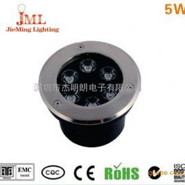 5W LED埋地灯户外防水射灯地灯广chang草坪灯庭院灯花园灯