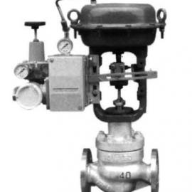 气动波纹管密封平衡笼式调节阀