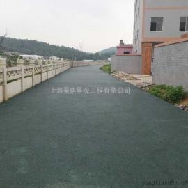 透水地坪由�追N材料�M成?透水地坪施工要求 透水地坪成本�r格