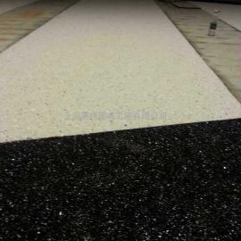 抗冻防滑石子透水地坪 路骨料高透水地坪 压花艺术透水地坪