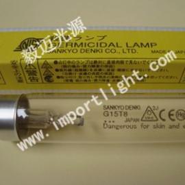 三共老化灯管G15T8消毒灯GL15紫外线杀菌灯