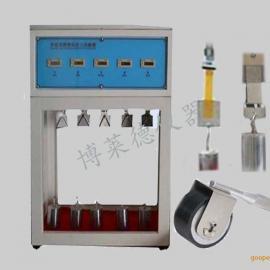 自粘聚合物改性沥青防水卷材测试仪厂家_持粘度测试仪价格