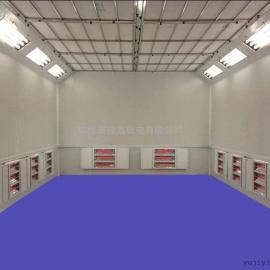 厂家供应环保型汽车烤漆房,电加热烤漆房