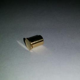 盲孔铜材质压铆螺柱 铜铆柱 铜铆钉M3-8