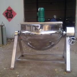 直销熬汤夹层锅,炒菜夹层锅,蒸汽可倾式夹层锅厂家直销