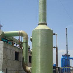 酸洗厂大风量PP/FRP锌烟吸收装置技术说明