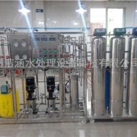 医院成套纯水设备 医药用双级反渗透设备 医药用超纯水设备