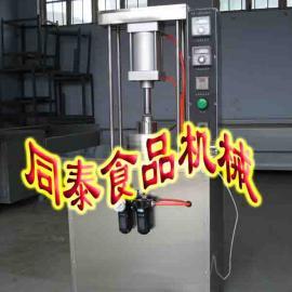 液压式压面皮机 电加热烤鸭饼机 自动擀饼机