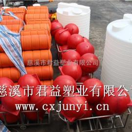 君益塑�I加工塑料浮球,直��50公分�A柱形浮球
